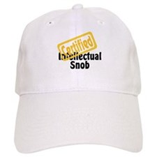 Intellectual Snob Baseball Cap
