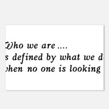 Who We Are .... Postcards (Package of 8)