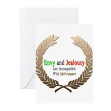 Envy and Jealousy Greeting Cards (Pk of 20)