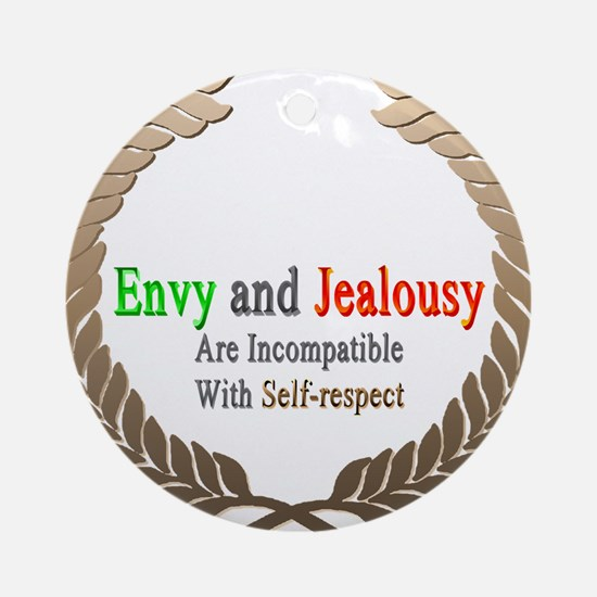 Envy and Jealousy Ornament (Round)