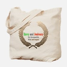 Envy and Jealousy Tote Bag