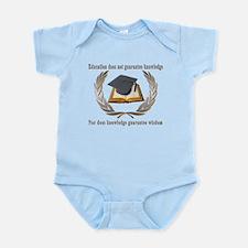 Education,Knowledge,Wisdom Infant Bodysuit