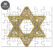 Gold Star of David Puzzle