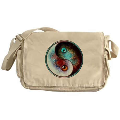 Cosmic Tao Messenger Bag