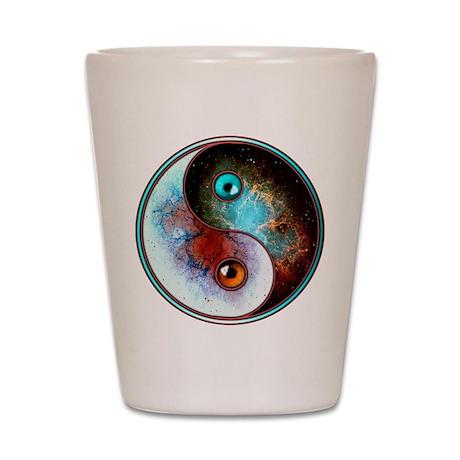 Cosmic Tao Shot Glass