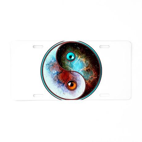 Cosmic Tao Aluminum License Plate