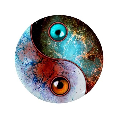 "Cosmic Tao 3.5"" Button (100 pack)"
