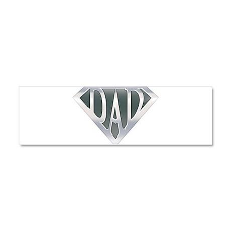 Super Dad Car Magnet 10 x 3