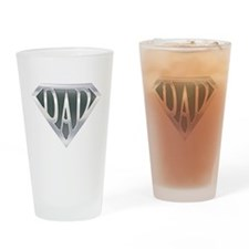Super Dad Drinking Glass