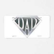 Super Dad Aluminum License Plate