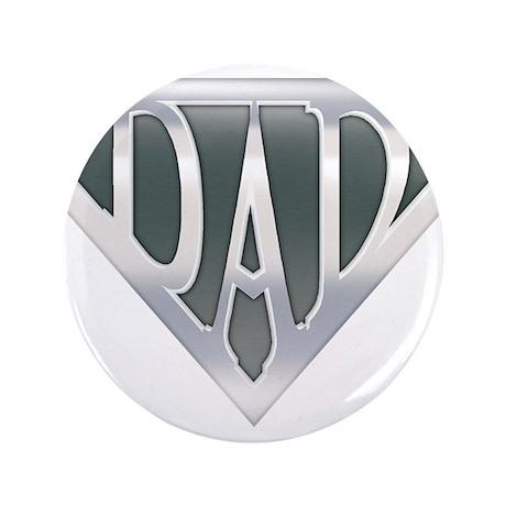 "Super Dad 3.5"" Button (100 pack)"