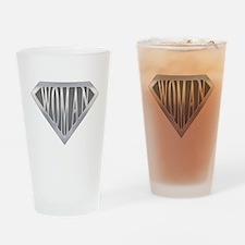 Super Woman Drinking Glass