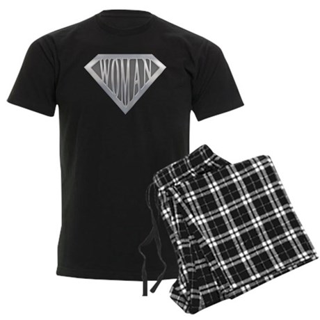 Super Woman Men's Dark Pajamas