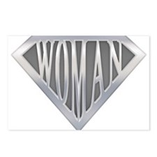 Super Woman Postcards (Package of 8)