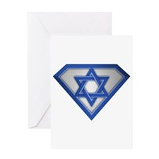Super Israeli/Jew Greeting Card