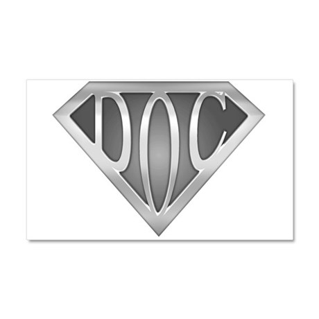 SuperDoc Car Magnet 20 x 12