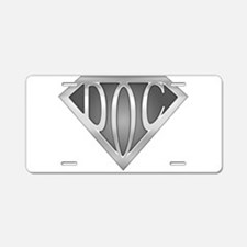 SuperDoc Aluminum License Plate