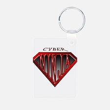 Cyber-Ninja(Red) Keychains