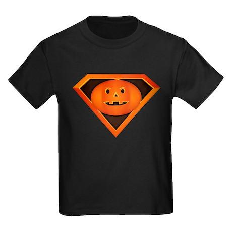 Super Pumpkin Kids Dark T-Shirt
