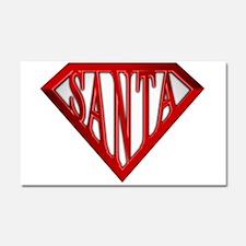 Super Santa Car Magnet 20 x 12