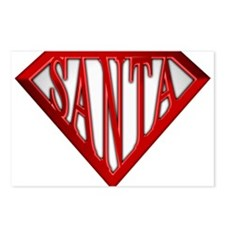 Super Santa Postcards (Package of 8)