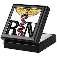 Registered Nurse Caduceus Keepsake Box