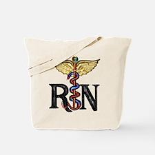 Registered Nurse Caduceus Tote Bag