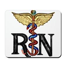Registered Nurse Caduceus Mousepad