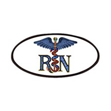 RN Caduceus Patches