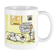 Judo Cartoon Mug