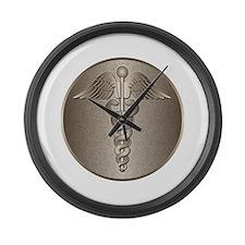 MD Caduceus Large Wall Clock