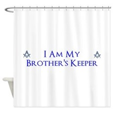 Brother's Keeper Shower Curtain