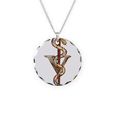 Veterinary Caduceus Necklace