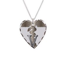 Veterinary Caduceus Necklace