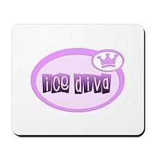 Ice Diva Purple Mousepad