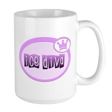 Ice Diva Purple Mug