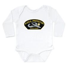 NSEA Cap Patch Long Sleeve Infant Bodysuit