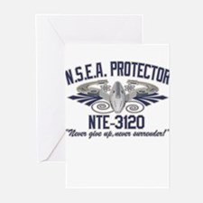 NSEA Protector Crew Greeting Cards (Pk of 10)