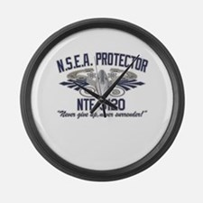 NSEA Protector Crew Large Wall Clock