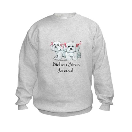 Bichon Frise Fun Kids Sweatshirt