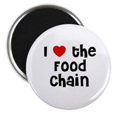I * the Food Chain Magnet