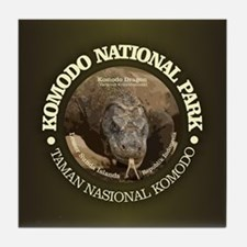 Komodo National Park Tile Coaster