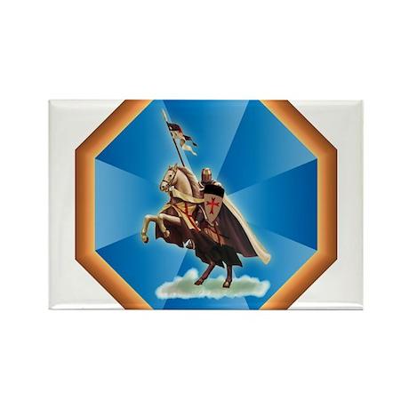 Knight Templar Rectangle Magnet (10 pack)