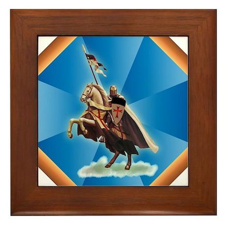 Knight Templar Framed Tile