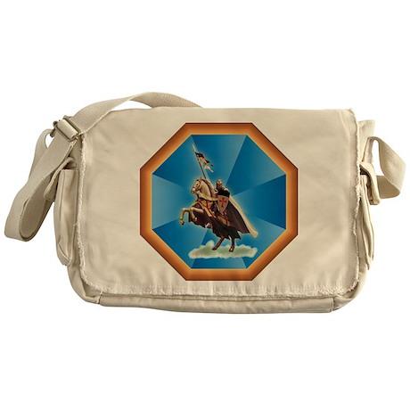Knight Templar Messenger Bag