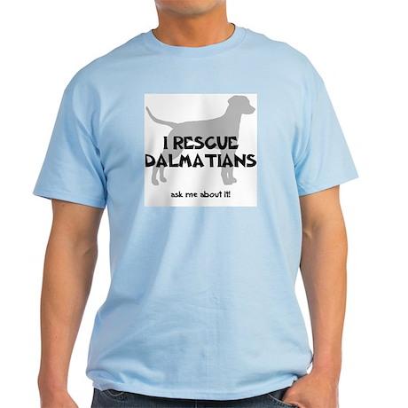 I RESCUE Dalmatians Light T-Shirt