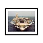 USS CONSTELLATION Framed Panel Print