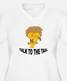 Talk To The Tail Lion T-Shirt