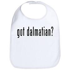 GOT DALMATIAN Bib