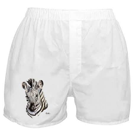 Zeebe Zebra Boxer Shorts